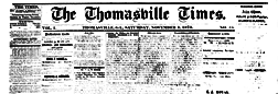 Thomasville Times newspaper archives