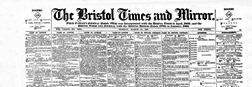 Bristol Times And Mirror newspaper archives