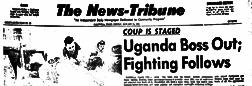 Caldwell News Tribune newspaper archives