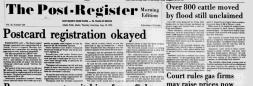 Idaho Falls Post Register newspaper archives
