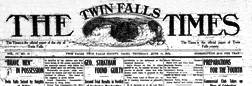 Twin Falls Times newspaper archives