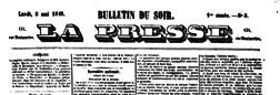 Paris Presse newspaper archives