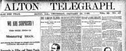 Alton Telegraph newspaper archives