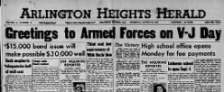 Arlington Heights Herald newspaper archives