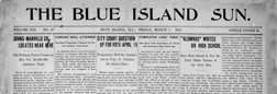 Blue Island Sun newspaper archives