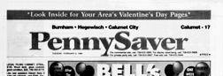 Burnham Pennysaver newspaper archives