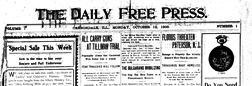Carbondale Daily Free Press newspaper archives