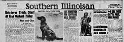 Carbondale Southern Illinoisan newspaper archives