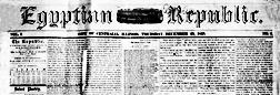 Centralia Egyptian Republic newspaper archives