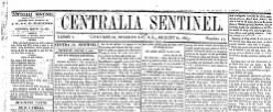 Centralia Sentinel newspaper archives