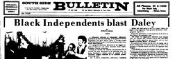Englewood Bulletin Chatham Illinois newspaper archives