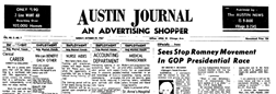 Austin Journal newspaper archives