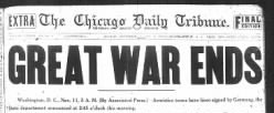 Chicago Daily Tribune newspaper archives