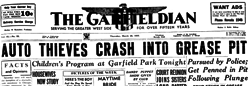 Chicago Garfieldian newspaper archives
