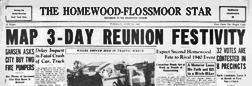 Chicago Homewood Flossmoor Star newspaper archives