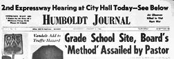 Chicago Humboldt Journal newspaper archives