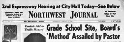 Chicago Northwest Journal newspaper archives