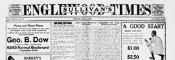 Chicago Sullivans Englewood Times newspaper archives