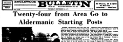 Englewood Bulletin Chicago Illinois newspaper archives