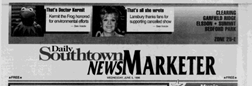 Clearing Daily Southtown News Marketer newspaper archives