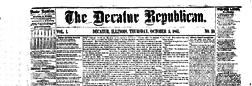 Decatur Republican newspaper archives