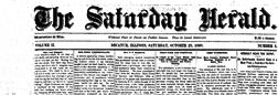 Decatur Saturday Herald newspaper archives