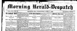 Morning Herald Despatch newspaper archives
