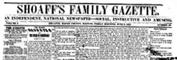 Shoaffs Family Gazette newspaper archives