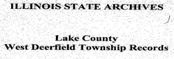 Deerfield Lake County Township Records newspaper archives