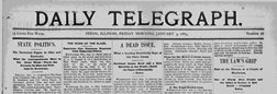 Dixon Daily Telegraph newspaper archives