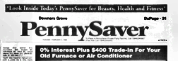 Downers Grove Pennysaver newspaper archives