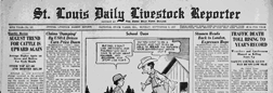 East St Louis Livestock Reporter newspaper archives