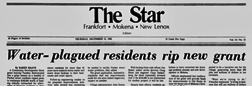 Frankfort Star newspaper archives