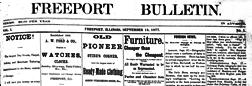 Freeport Bulletin newspaper archives