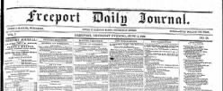 Freeport Daily Journal newspaper archives