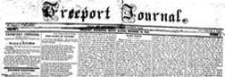 Freeport Journal newspaper archives