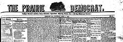 Freeport Prairie Democrat newspaper archives