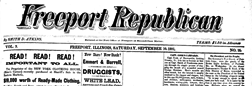 Freeport Republican newspaper archives