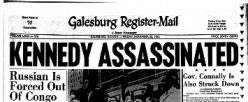 Galesburg Register Mail newspaper archives