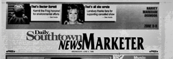 Harvey Daily Southtown News Marketer newspaper archives