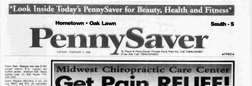 Hometown Pennysaver newspaper archives