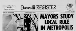 Itasca Register newspaper archives
