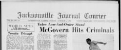 Jacksonville Journal Courier newspaper archives
