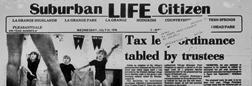 La Grange Suburban Life Citizen newspaper archives
