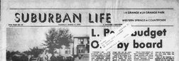 La Grange Suburban Life newspaper archives