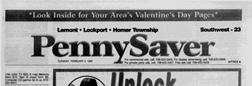 Lemont Pennysaver newspaper archives