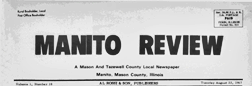 Manito Review newspaper archives