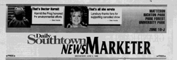 Matteson Daily Southtown News Marketer newspaper archives