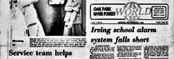 Melrose Park World newspaper archives
