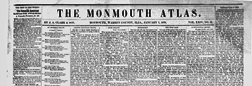 Monmouth Atlas newspaper archives